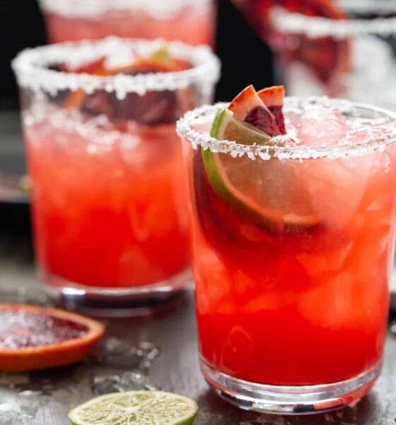 MILAN'S TASTY THURSDAY: How about a Blood Orange Margarita? … We all need it!