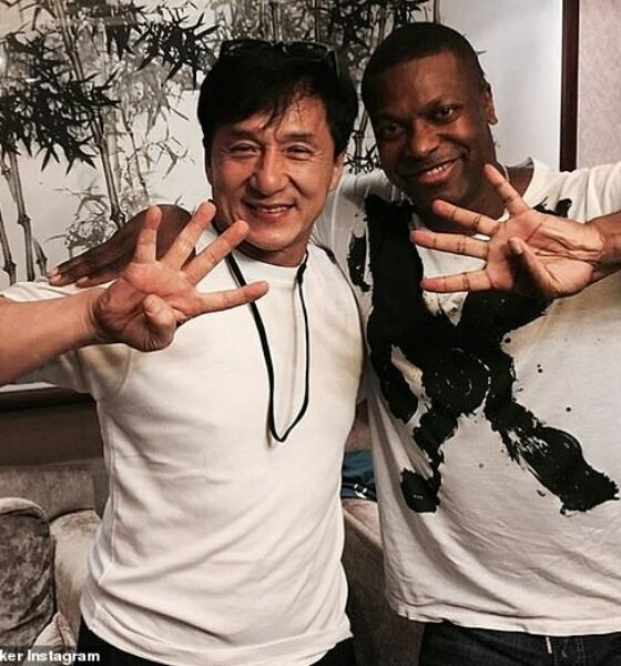 Chris Tucker Teases Rush Hour 4 Release During Jackie Chan's 65th birthday Party